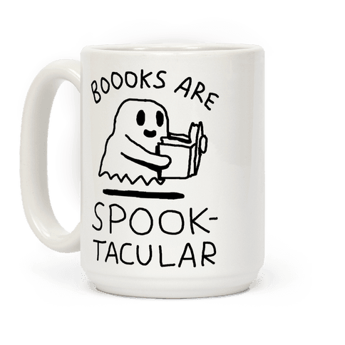 Boooks Are Spooktacular Ghost