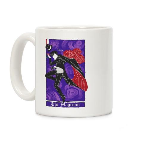 Tuxedo Mask The Magician Tarot Card Coffee Mug