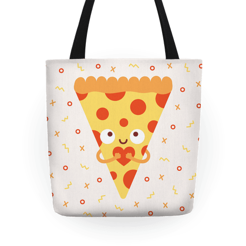 Pizza My Heart Tote