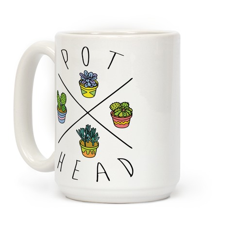 Pot Head Succulents Coffee Mug