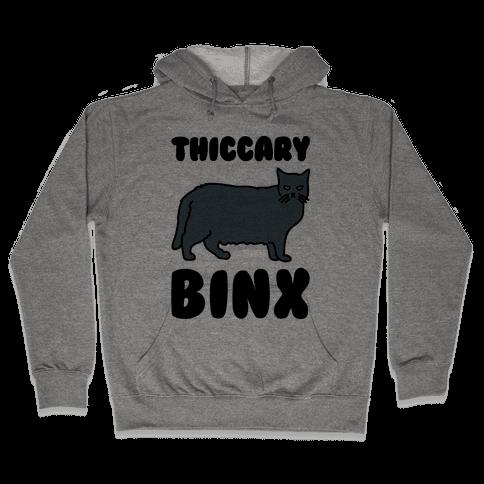 Thiccary Binx Parody Hooded Sweatshirt