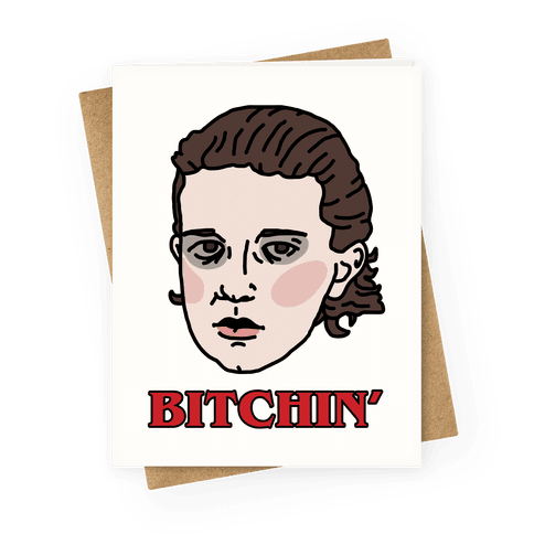 Bitchin' Eleven Greeting Card