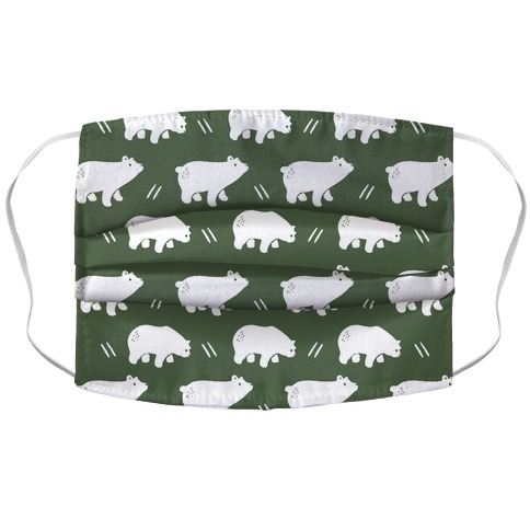 Bear Chive Boho Pattern Face Mask Cover