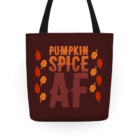 Pumpkin Spice Af Tote