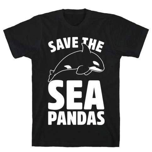 Save The Sea Pandas T-Shirt