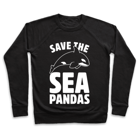 Save The Sea Pandas Pullover