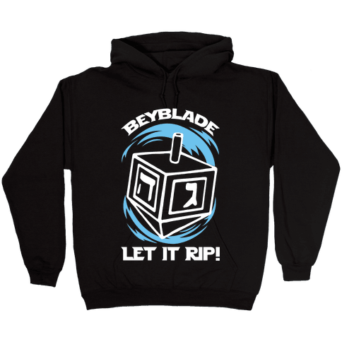 Beyblade Let It Rip Dreidel Hooded Sweatshirt