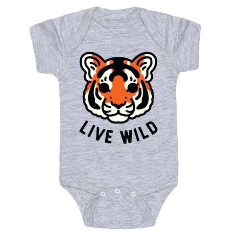 Live Wild Baby Onesy