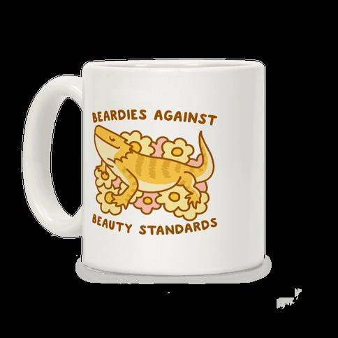Beardies Against Beauty Standards Coffee Mug