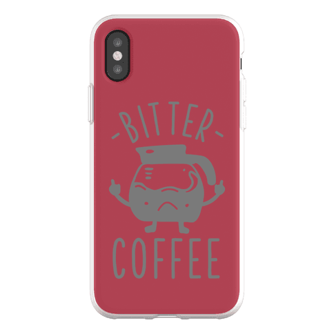 Bitter coffee Phone Flexi-Case