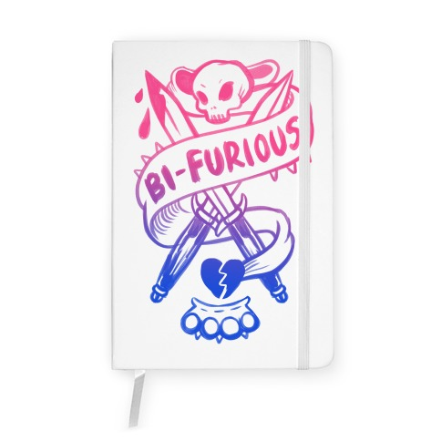 Bi-Furious Notebook