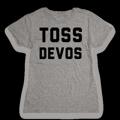 Toss DeVos Womens T-Shirt