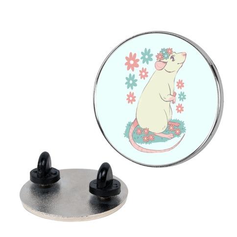 Soft Pastel Rat Pin