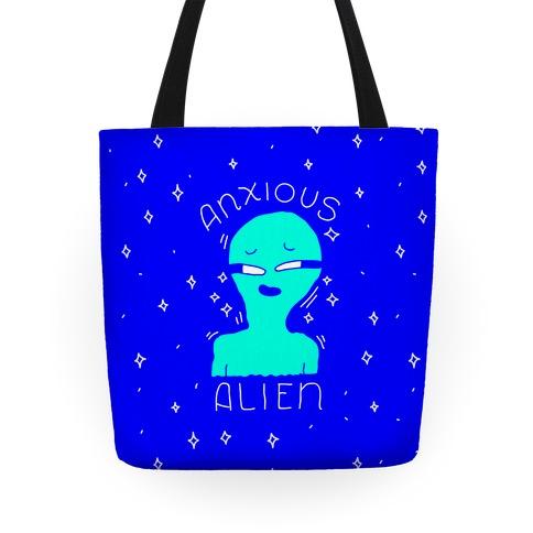 Anxious Alien Tote