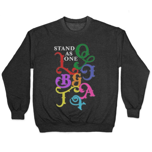 LGBTQIA+ Stand As One Pullover