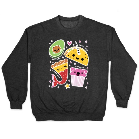 Cute Food Mashups Pullover