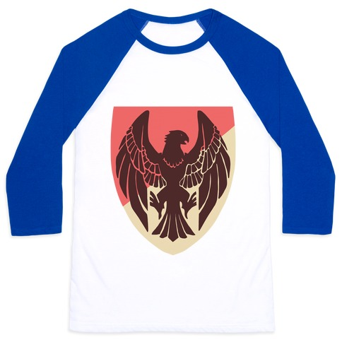 Black Eagles Crest - Fire Emblem Baseball Tee