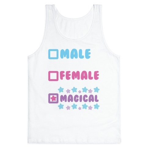Magical Gender Checklist Tank Top