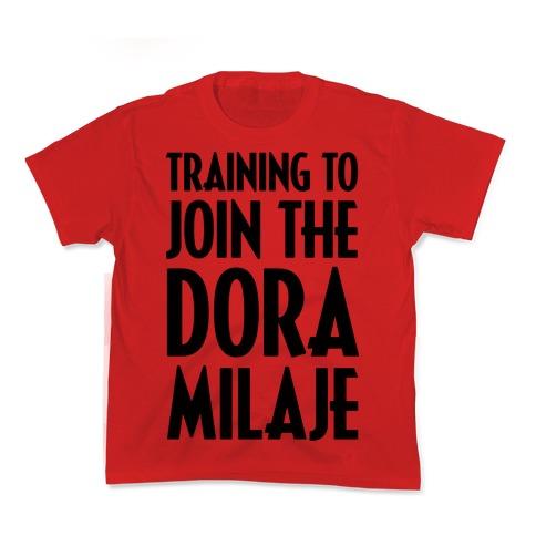Training To Join The Dora Milaje Kids T-Shirt