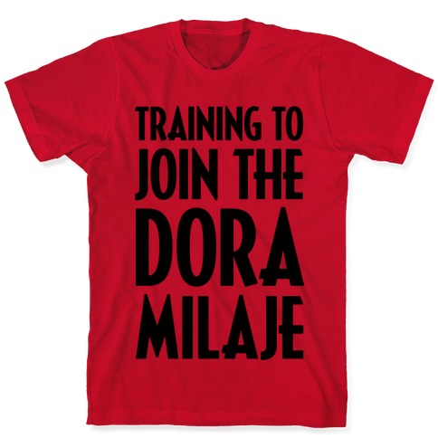 Training To Join The Dora Milaje T-Shirt