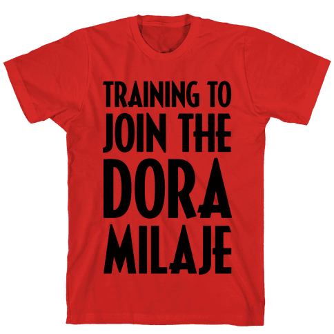 Training To Join The Dora Milaje Mens T-Shirt