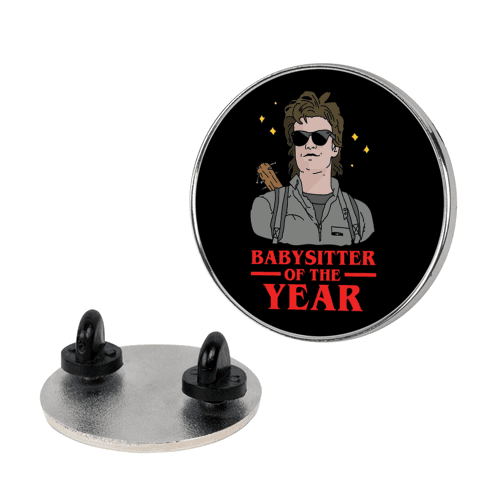 Babysitter of the Year pin