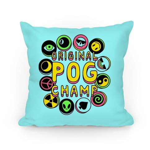 Original POG Champ Pillow