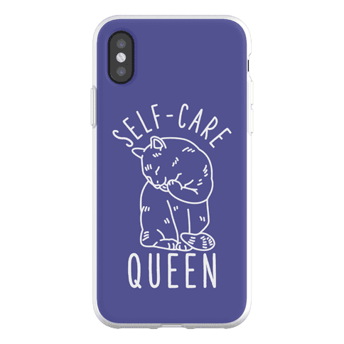 Self-Care Queen Phone Flexi-Case