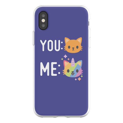 You Me Caticorn Phone Flexi-Case