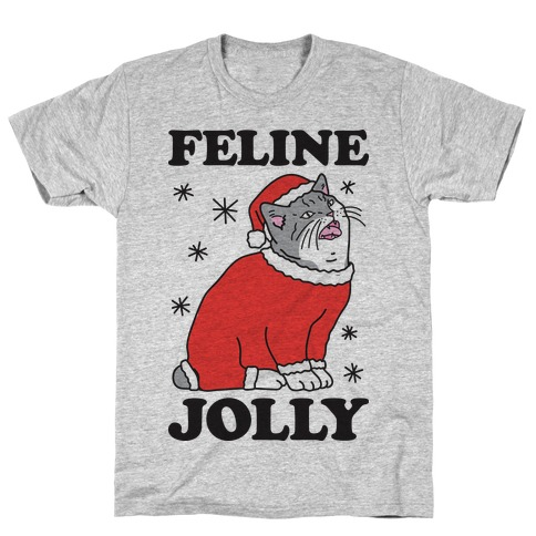 Feline Jolly Cat T-Shirt