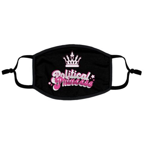 Political Princess Flat Face Mask