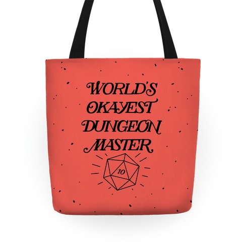 World's Okayest Dungeon Master Tote