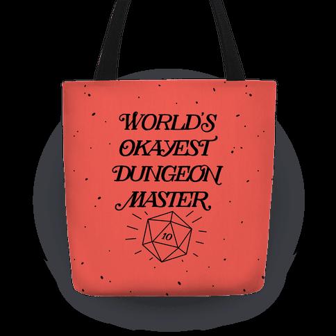World's Okayest Dungeon Master Tote
