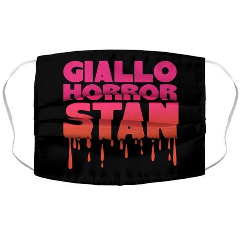 Giallo Horror Stan Accordion Face Mask