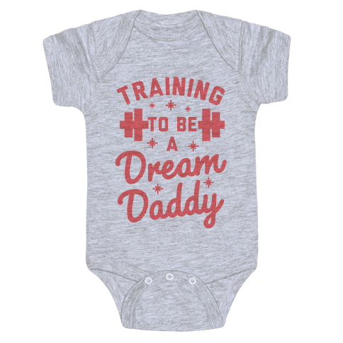 Training to be a Dream Daddy Baby Onesy