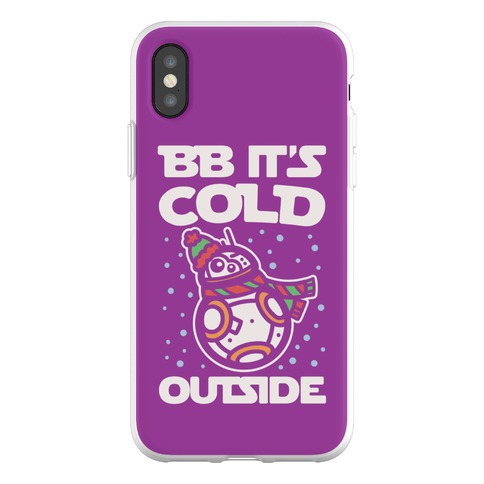 BB It's Cold Outside Parody Phone Flexi-Case
