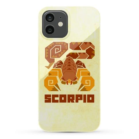 Monster Hunter Astrology Sign: Scorpio Phone Case