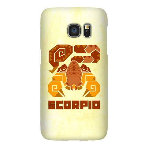 Monster Hunter Astrology Sign: Scorpio Phone Case