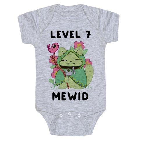 Level 7 Mewid Baby Onesy