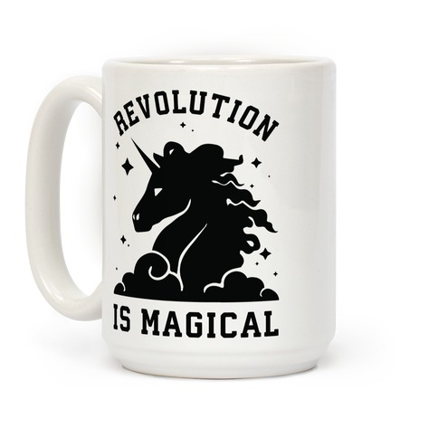 Revolution is Magic Coffee Mug