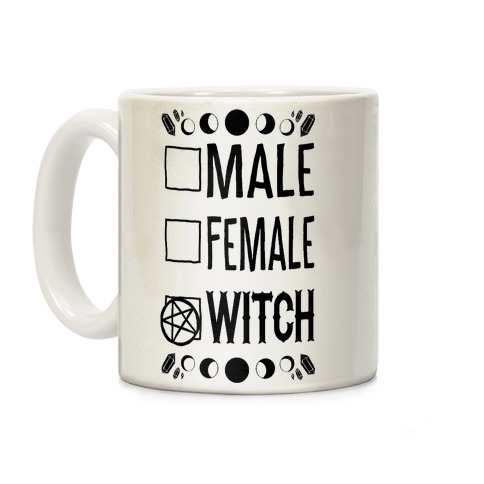 Male, Female, Witch Coffee Mug
