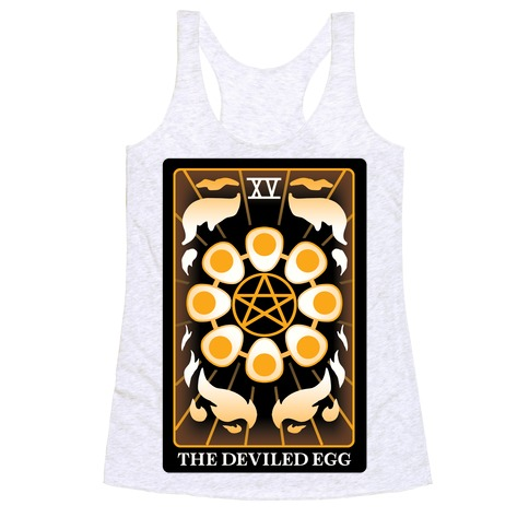 The Deviled Egg Racerback Tank Top