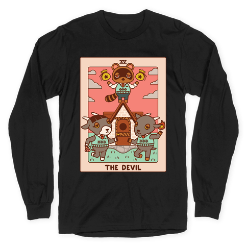 The Devil Tom Nook Long Sleeve T-Shirt