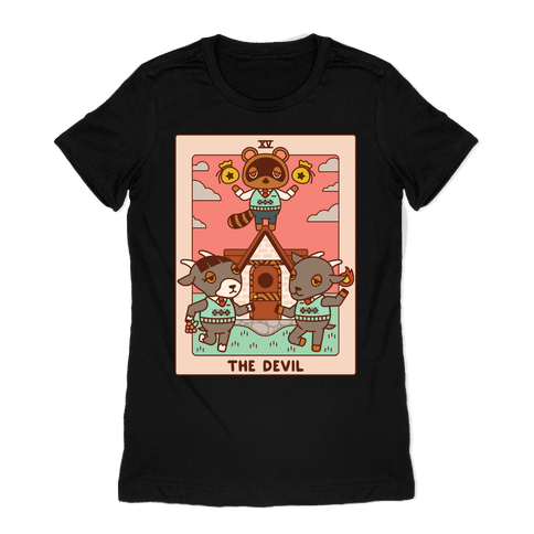 The Devil Tom Nook Womens T-Shirt