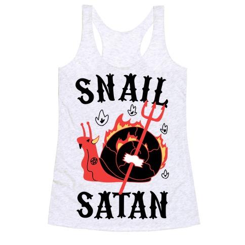 Snail Satan Racerback Tank Top