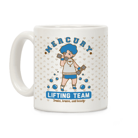 Mercury Lifting Team Parody Coffee Mug