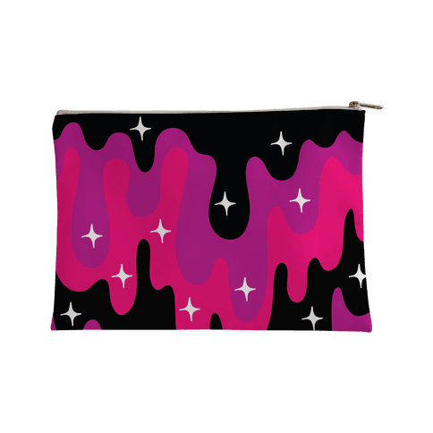 Euphoric Sparkle Drip Pattern Accessory Bag
