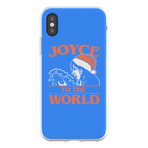 Joyce To The World Parody Phone Flexi-Case