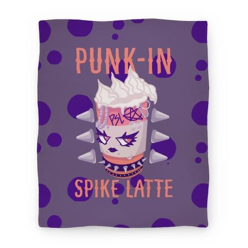 Punk-In Spike Latte Blanket