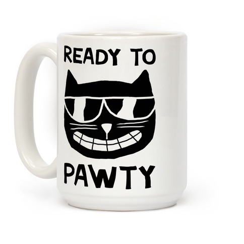 Ready To Pawty Coffee Mug